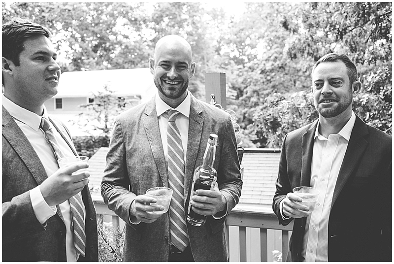 black and white wedding candids raleigh, nc