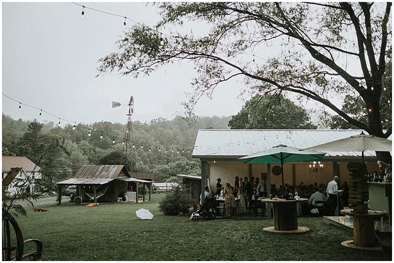 North Carolina outdoor wedding venue
