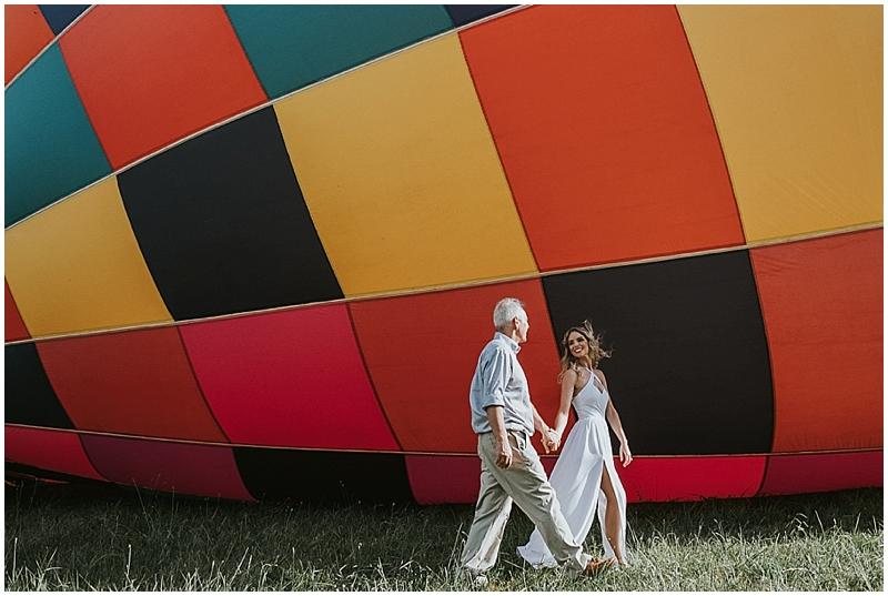 raleigh hot air balloon portraits