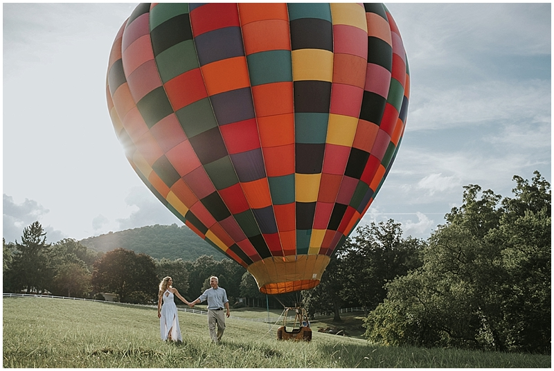 north carolina hot air balloon company