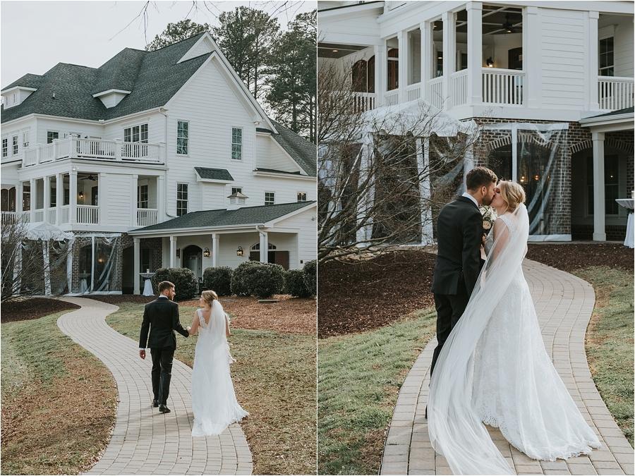 romantic artistic wedding photographer north carolina