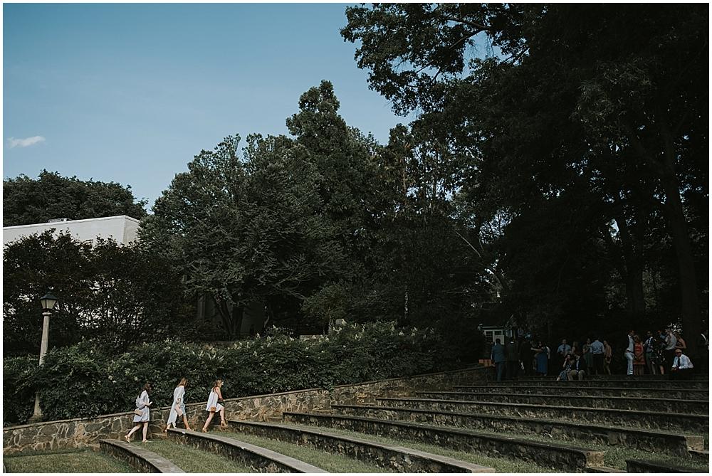 Raleigh Rose Garden elopement