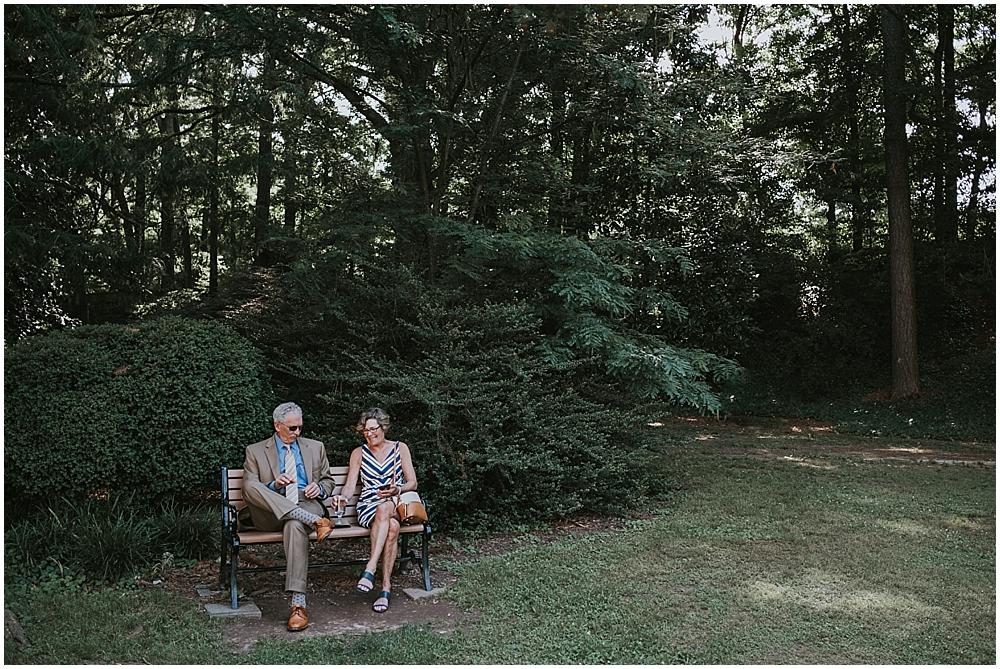 Raleigh Outdoor elopement
