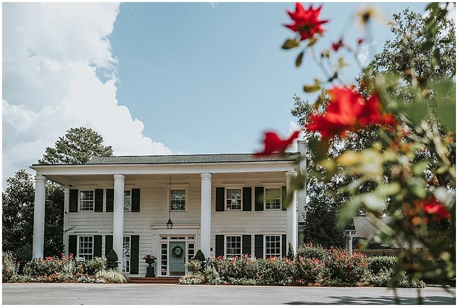 Southern plantation wedding Raleigh NC