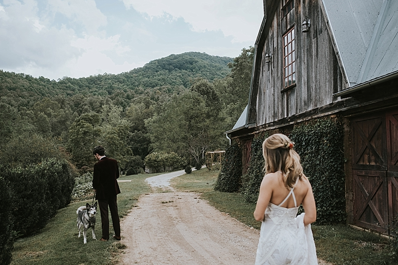 The barn of chapel hill wedding