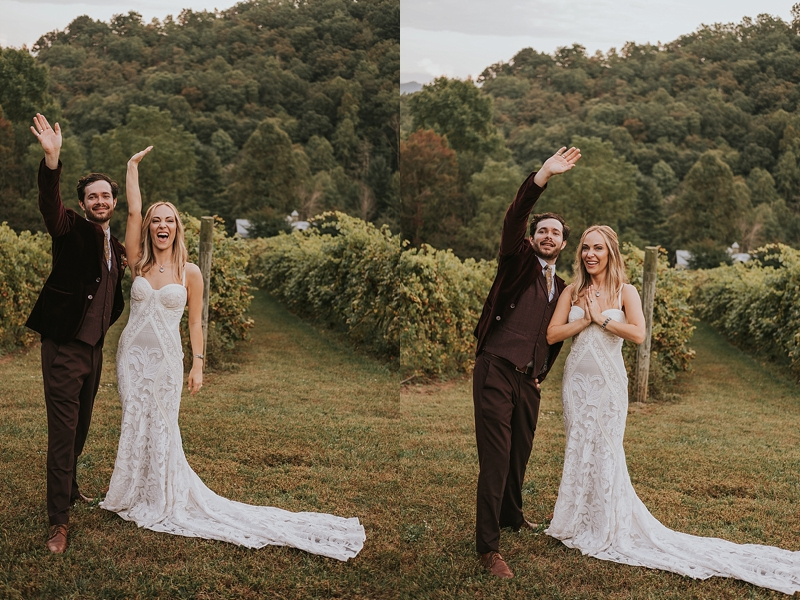 bohemian north carolina wedding photographer