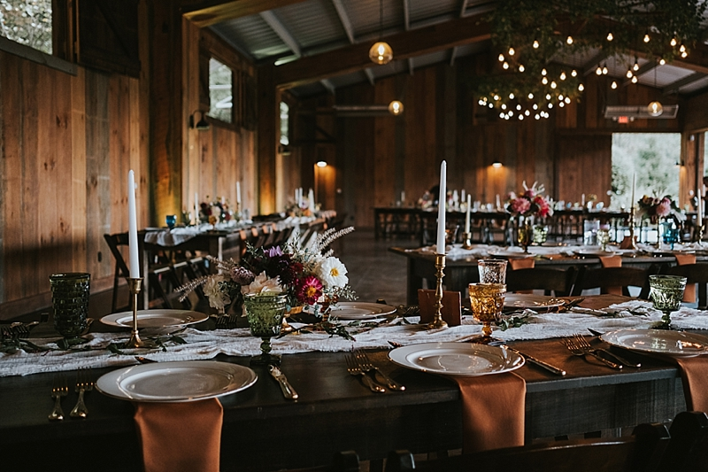 Rock quarry farm rustic wedding