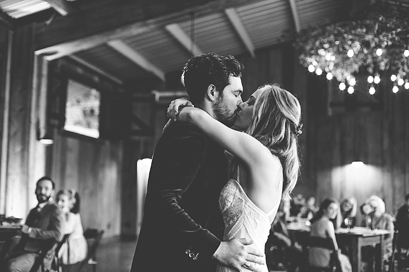 The barn at Chapel Hill boho wedding