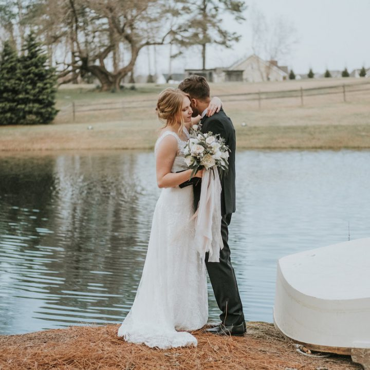 Ashton + Josh | The Oaks at Salem Wedding in Raleigh, NC