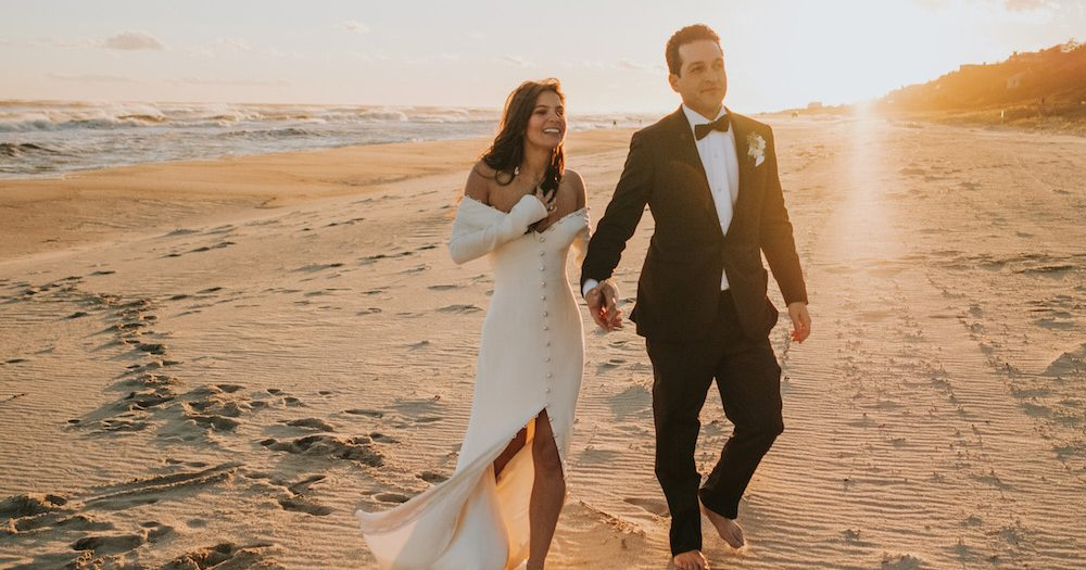 Luxe Montauk Beach Wedding on Long Island, New York | Sam + Kevin