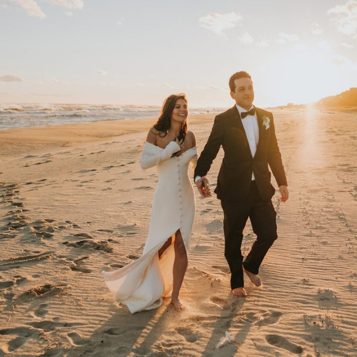 Sam + Kevin | Luxe Beach Wedding on Long Island, New York