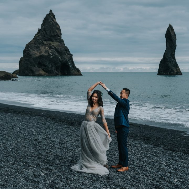 Adventure Elopement in South Iceland | Alice + Chris