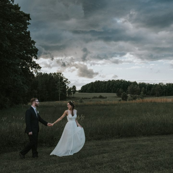Hannah + Matt | Barn Wedding near Raleigh, North Carolina