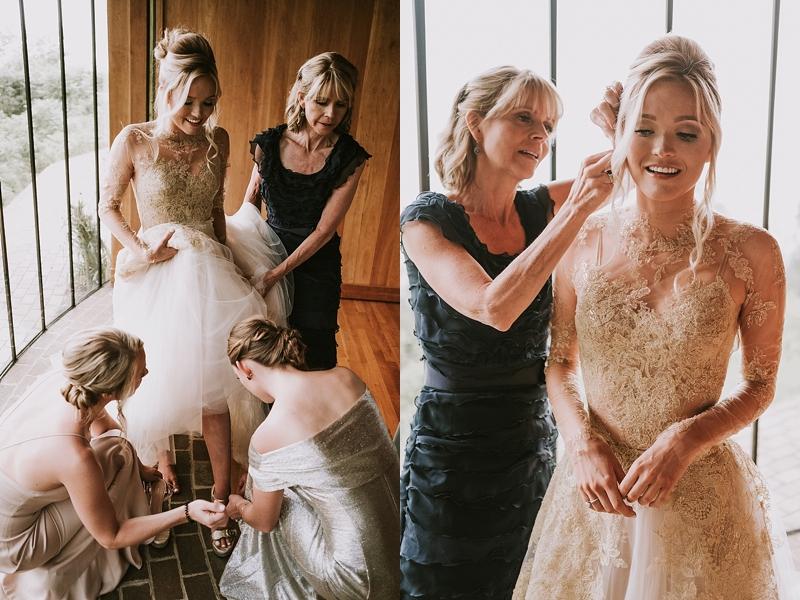 Primland Resort bridal portraits