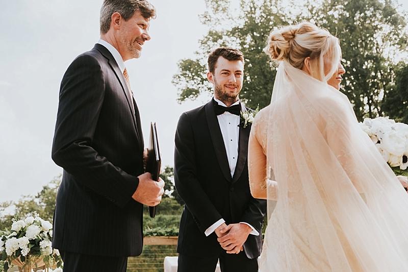 outdoor Primland wedding