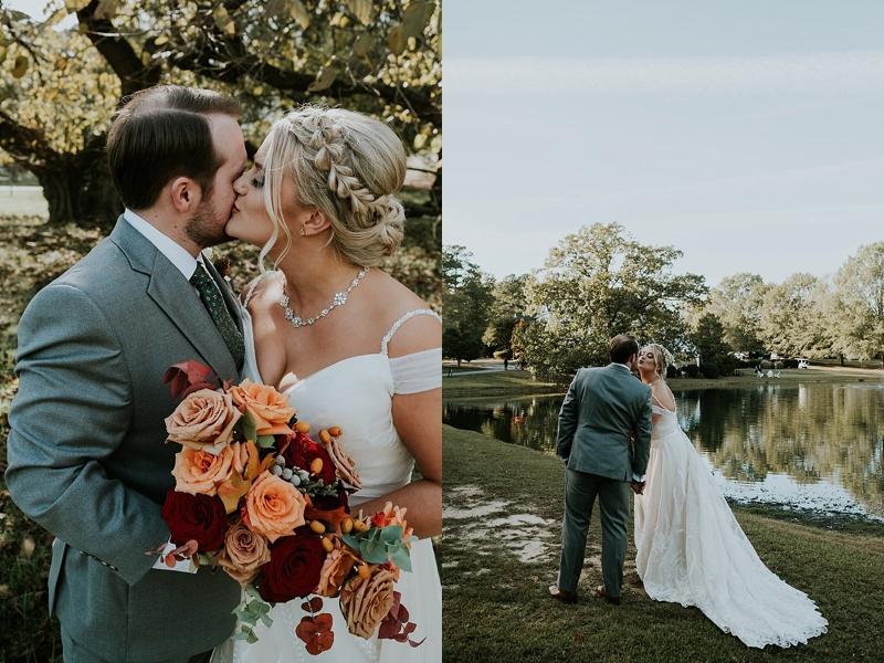 The Oaks at Salem wedding photographer
