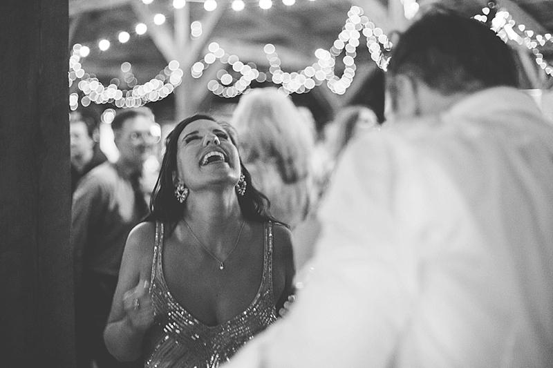 The Barn at Chapel Hill wedding reception