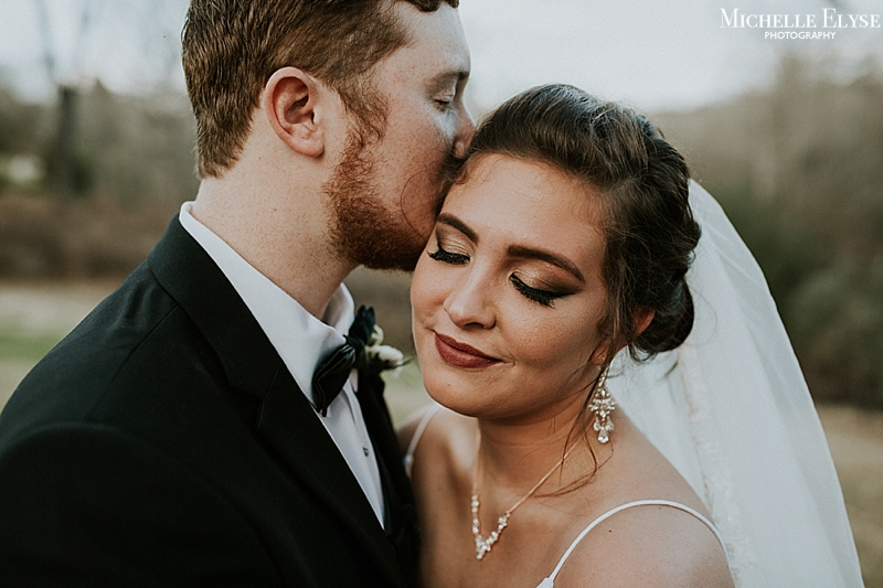 dark and moody Raleigh wedding photographer