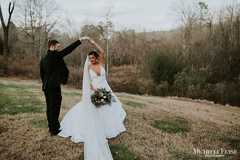 dark and moody north carolina wedding photographer