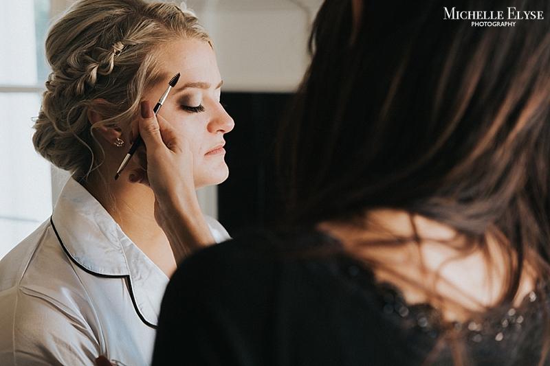 Raleigh wedding makeup artist