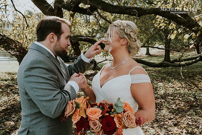 Raleigh outdoor wedding