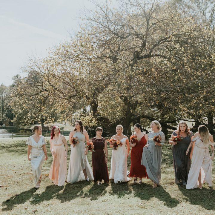 The Oaks at Salem Wedding in Autumn | Alex + Andrew