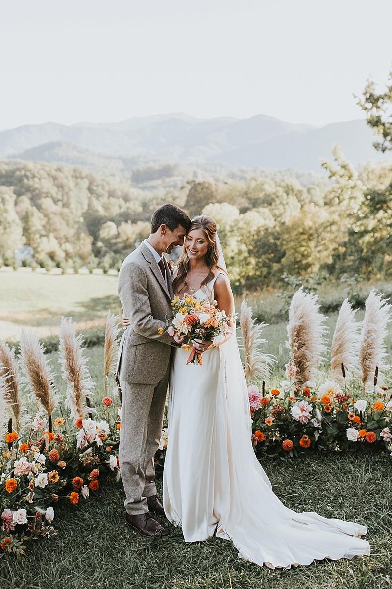 editorial Wedding photographer at The Ridge venue