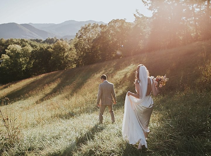 Wedding Full of Pampas Grass and Starry Skies | Sarah + Scott