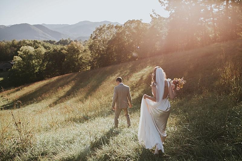 The Ridge Asheville scenic wedding venue