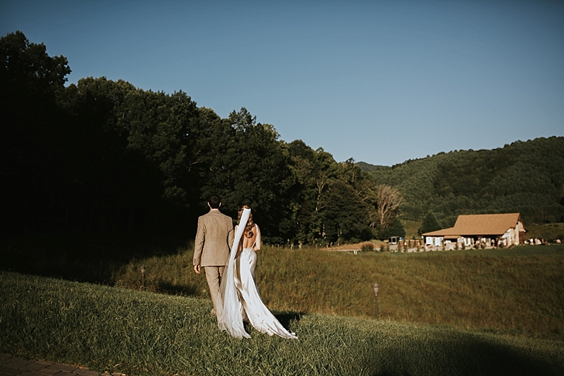 North Carolina editorial wedding photography