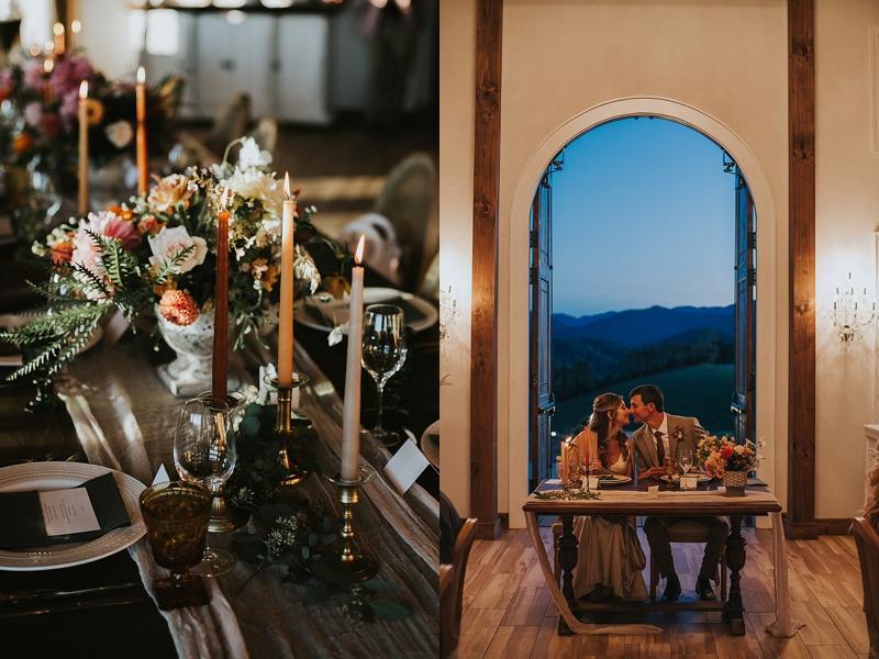 Wedding at the Ridge Asheville