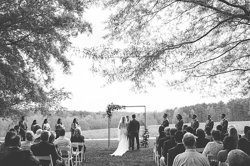 Raleigh North Carolina outdoor wedding venue