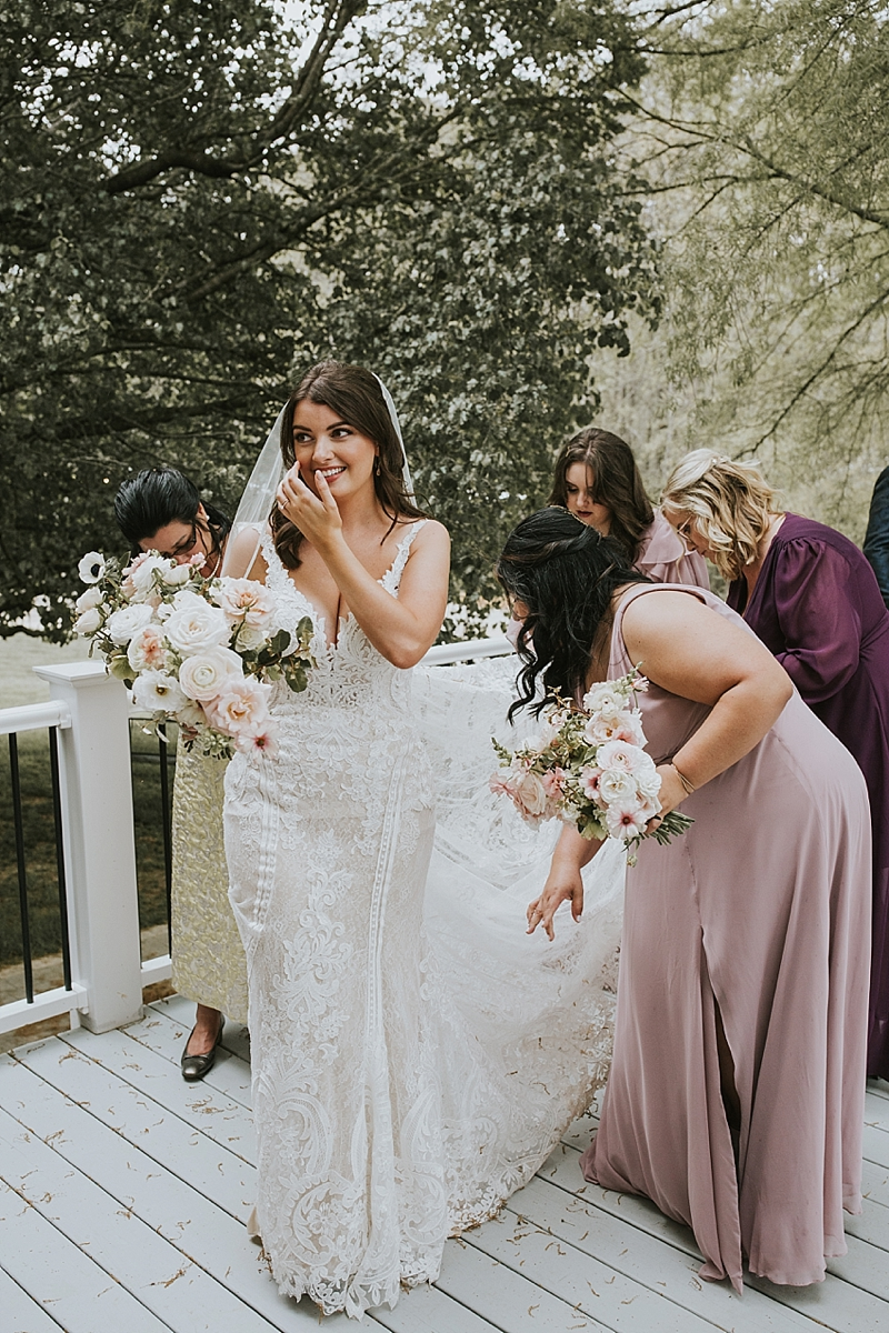 glamorous north carolina wedding photography