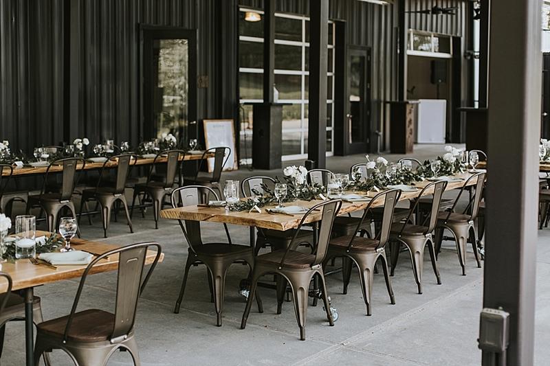 Raleigh North Carolina outdoor industrial wedding venue