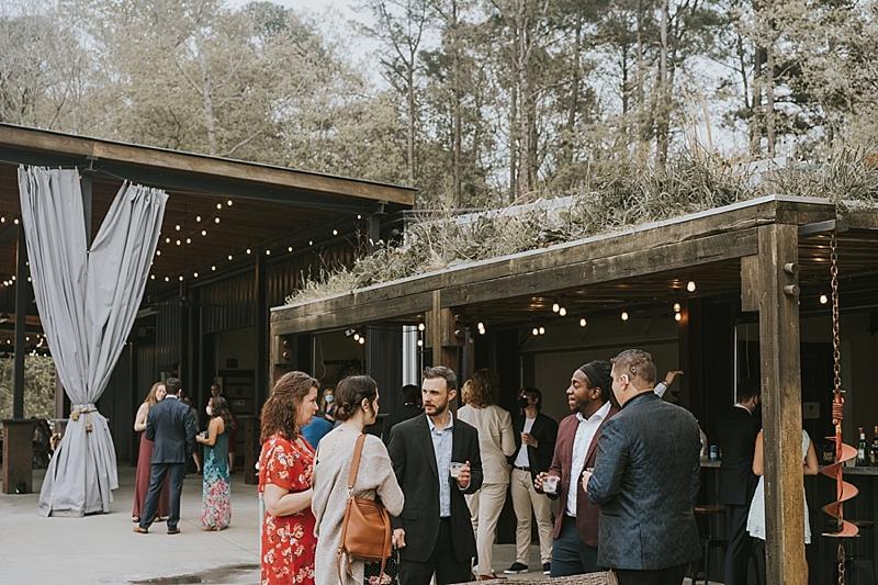 The Meadows at Firefly Farm Preserve wedding reception