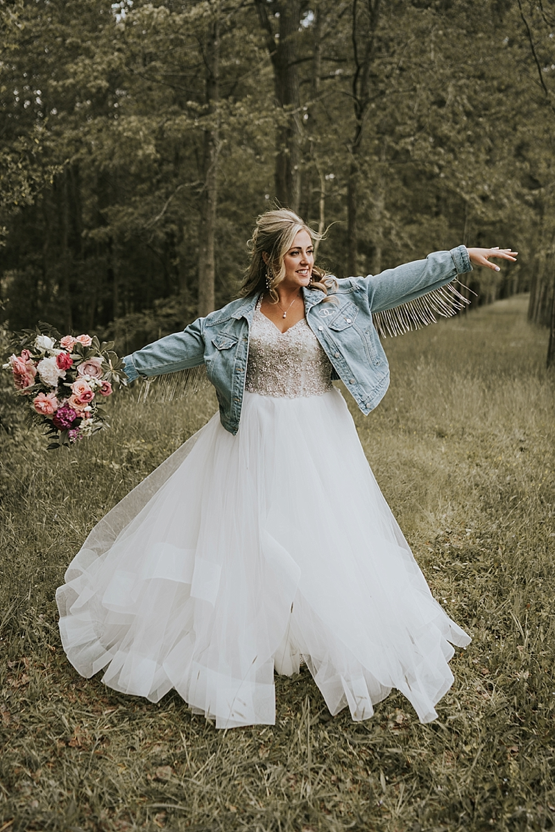 cowgirl wedding