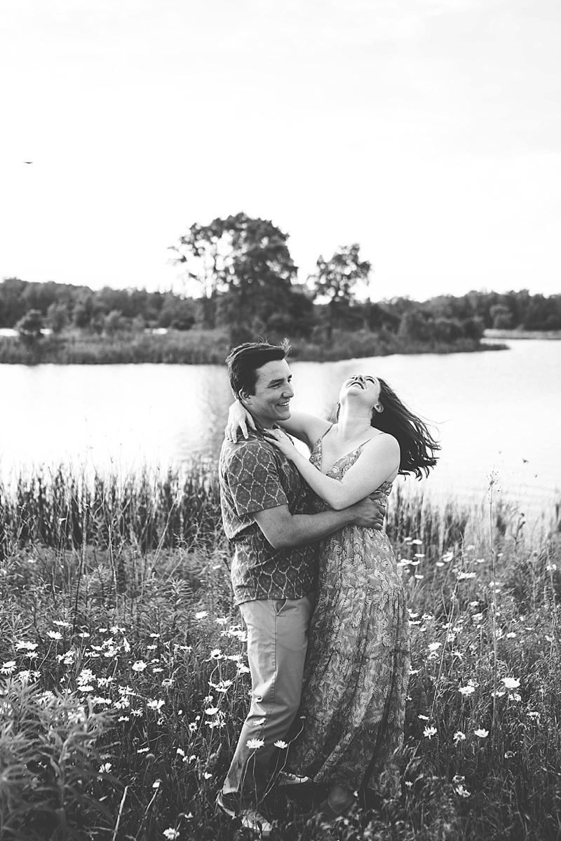 Chicago outdoor engagement photographer