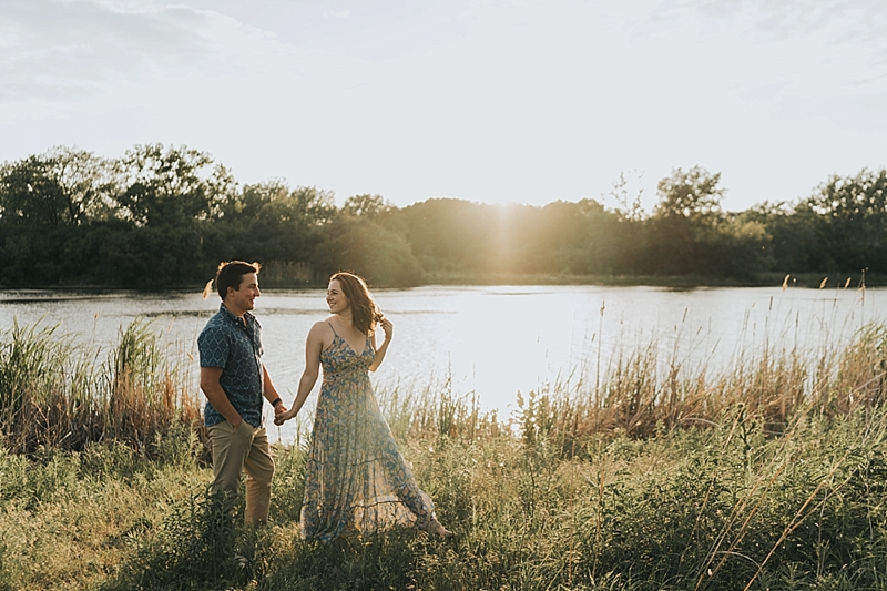 Chicago outdoor engagement session 0012