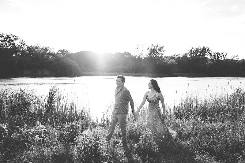Chicago outdoor wedding photographer