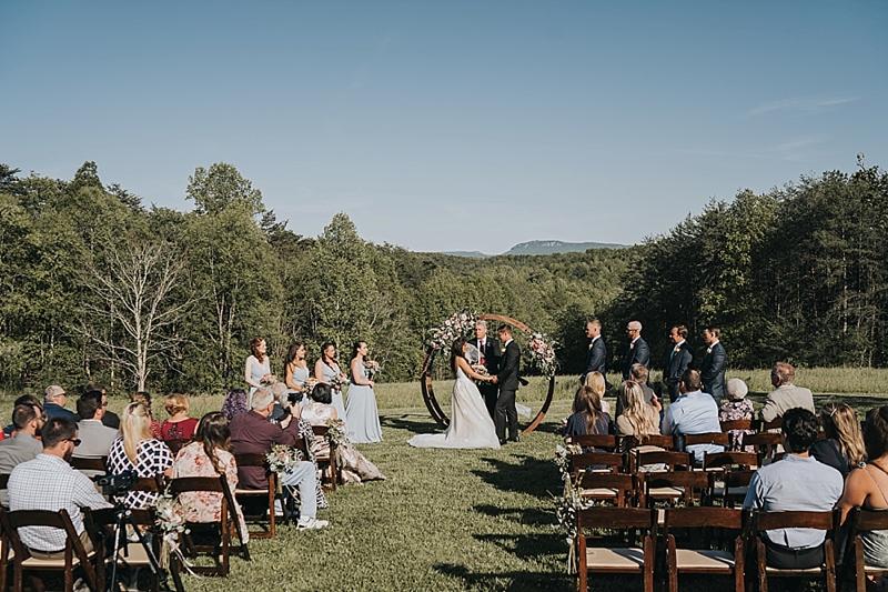 rustic outdoor north carolina wedding venue