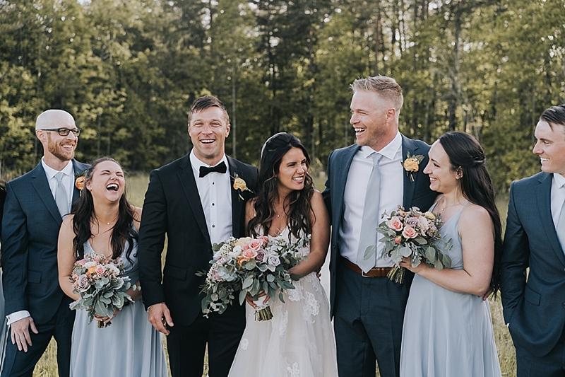 wedding near pilot mountain