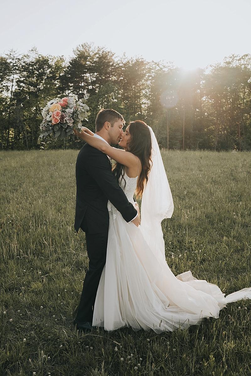 ethereal moody wedding photographer in North Carolina