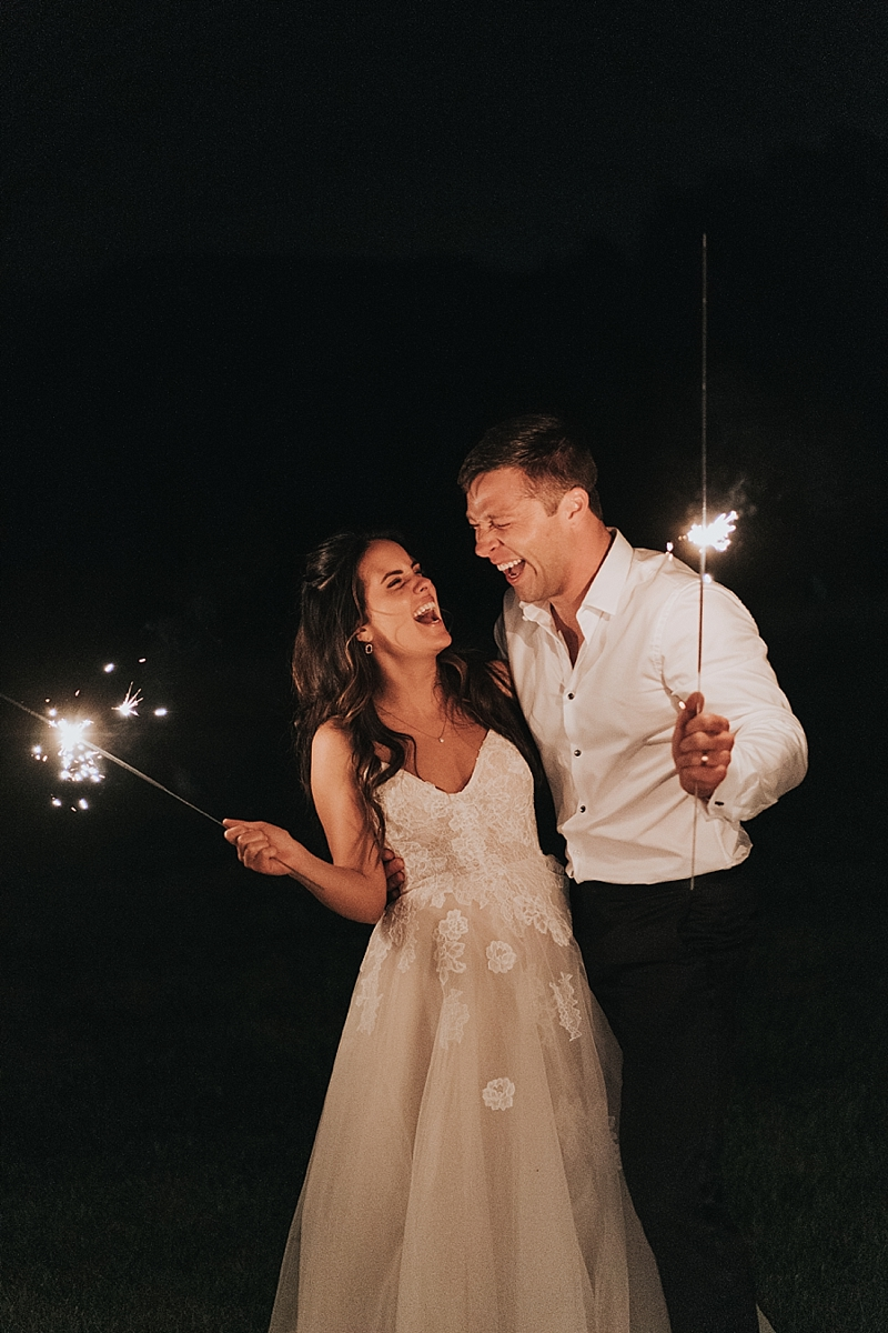 real couples photos with sparklers