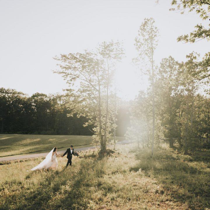 Luna's Trail Farm Wedding near Winston Salem, NC | Ashley + Zach