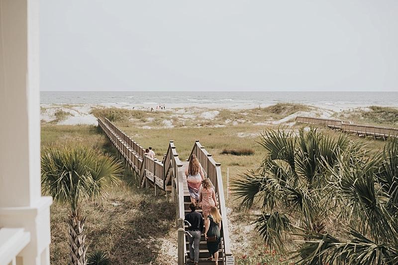 Wilmington North Carolina Beach House Wedding